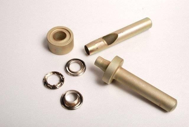 Инструмент для установки люверсов и его характеристика