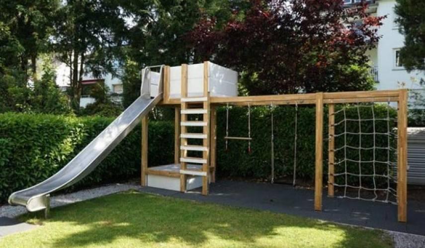 Строительство детской площадки своими руками