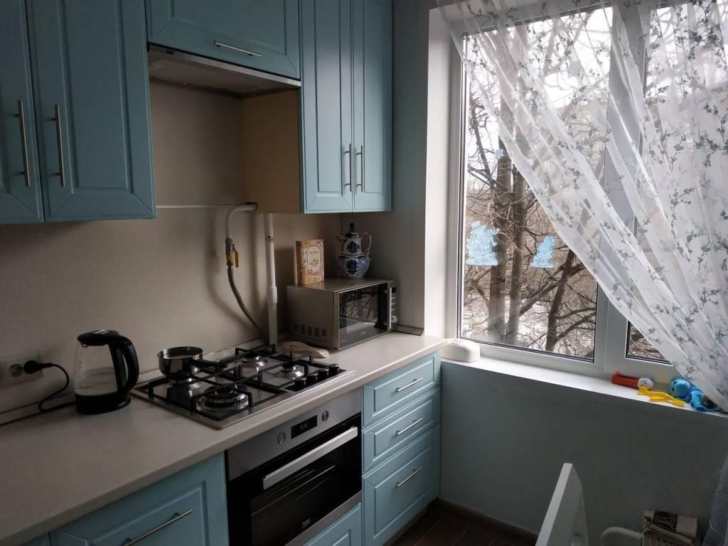 Дизайн кухонь 6 кв. м в хрущевках после ремонта