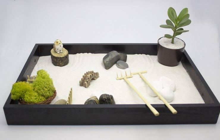 Японский сад камней - разбираем стилистические особенности