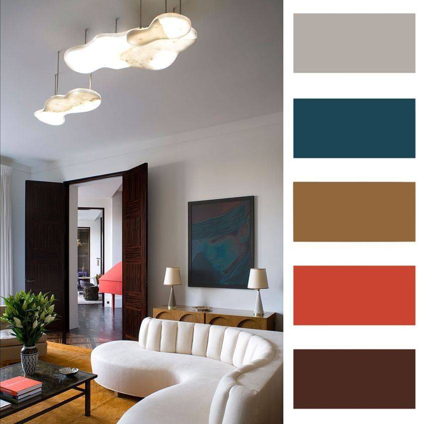 Принесите летнее тепло в ваш дом: элегантное оформление комнат в коралловых оттенках