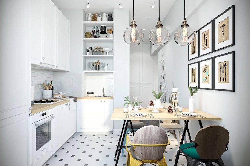 Кухня в скандинавском стиле - 35 фото оригинальных идей