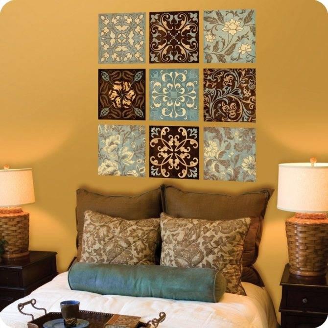 Особенности использования остатков обоев в интерьере: оформление стен, мебели, мелких декорирующих элементов