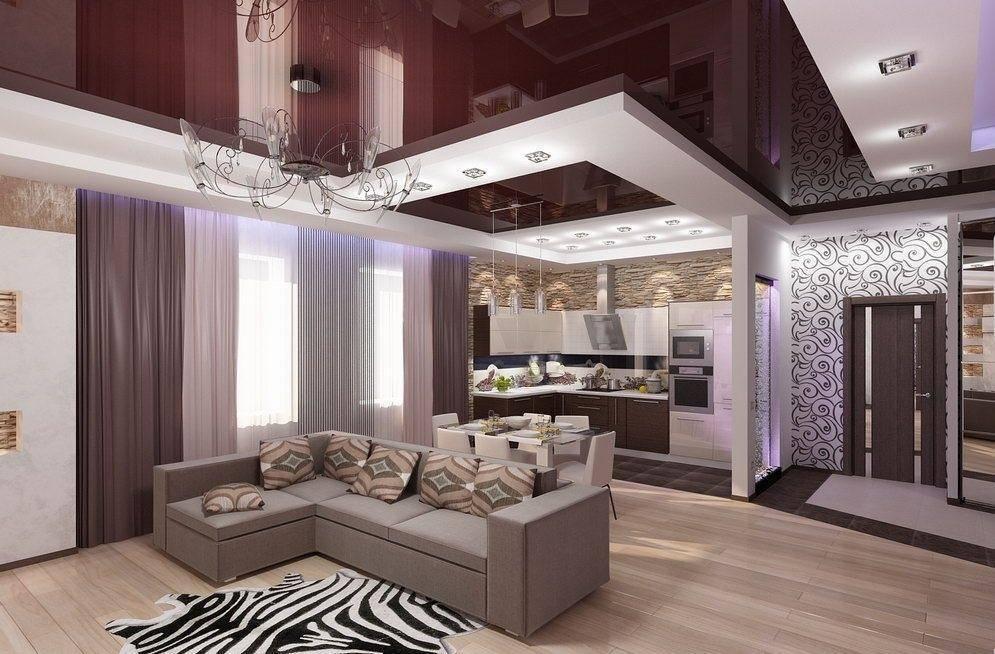 Прихожая совмещенная с гостиной: примеры дизайна - «интерьер гостиной» » все о сауне