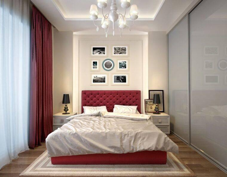 Дизайн спальни 10 кв.м. в хрущевке — 30 реальных фото и полезные советы