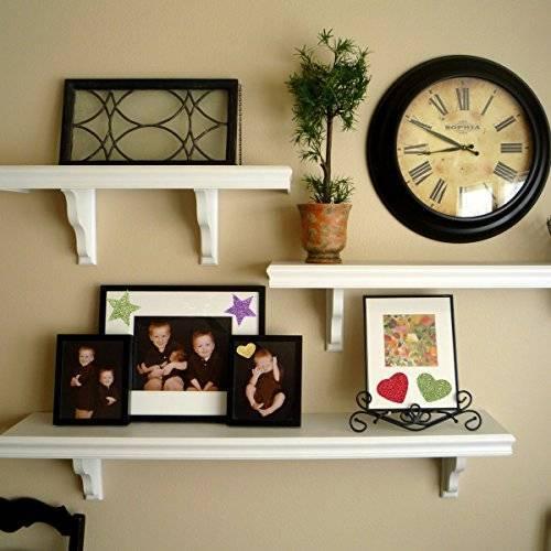 Полки на стену в интерьере. фото, идеи и советы