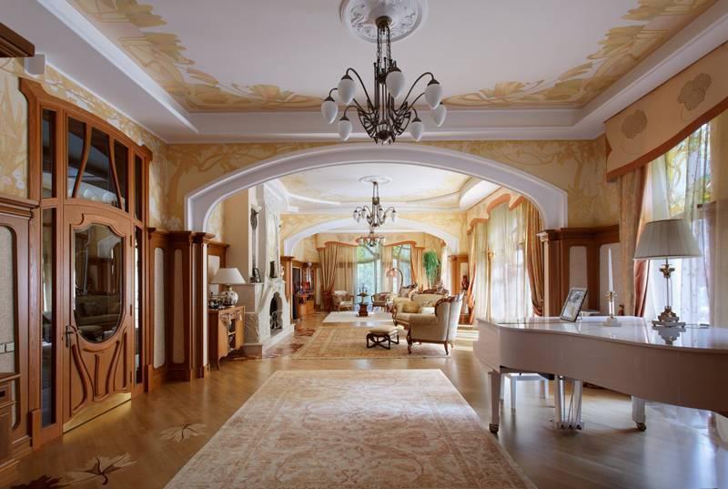 Гостиная в стиле модерн: 40 фото, гид по дизайну
