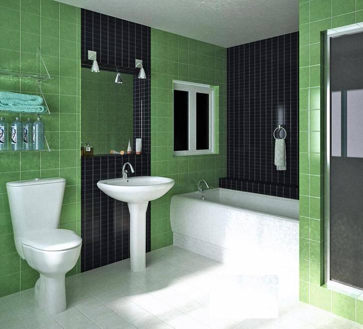 Как выбрать плитку в ванную комнату: оформление санузла керамикой