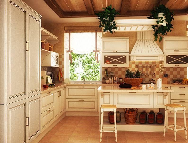 Дизайн кухни в стиле кантри — особенности интерьера +75 фото | правильный дизайн квартиры и дома