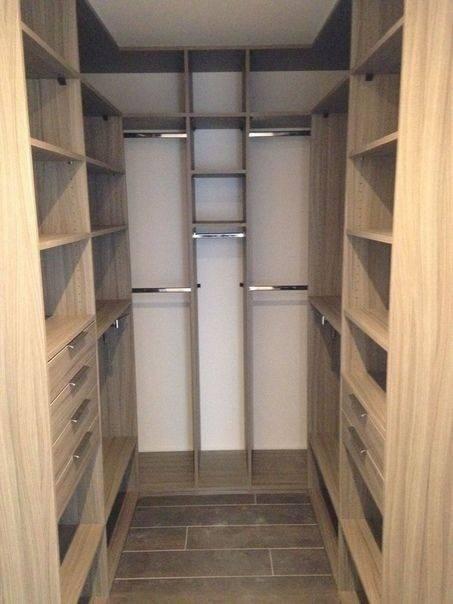 Дизайн маленькой гардеробной комнаты — идеи и советы