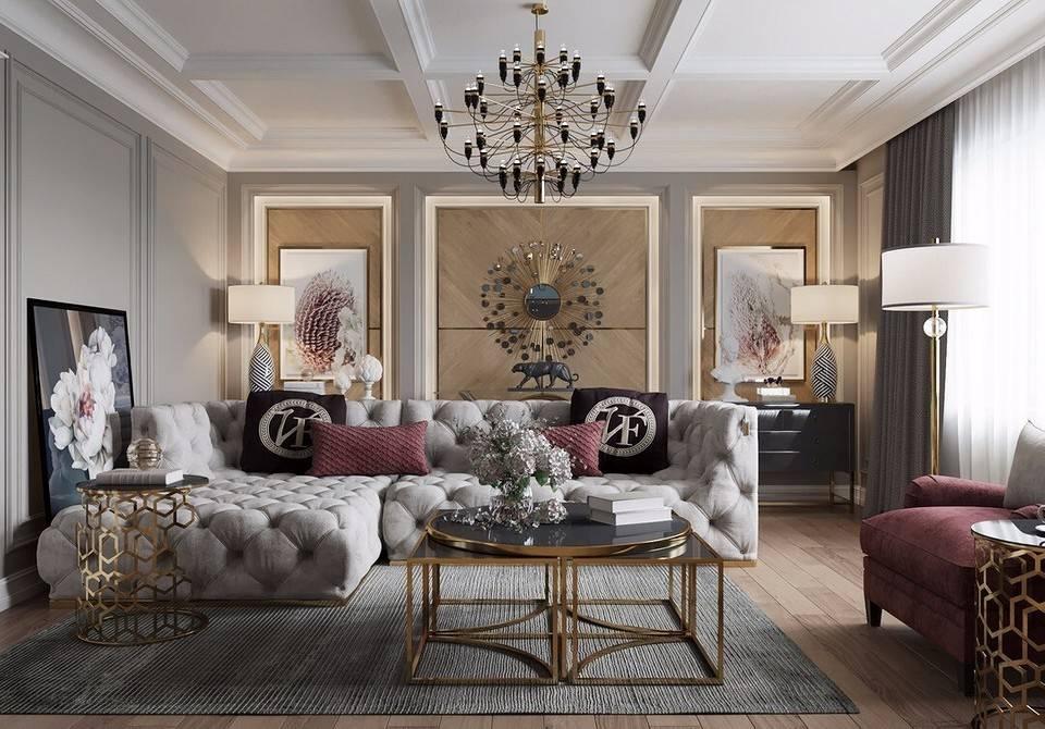 Гламурный интерьер > 40 фото-идей – что такое стиль гламура в интерьере квартир и домов?