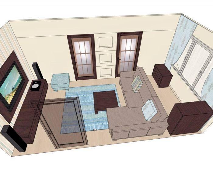Как расставить мебель в зале: 4 особенности оформления