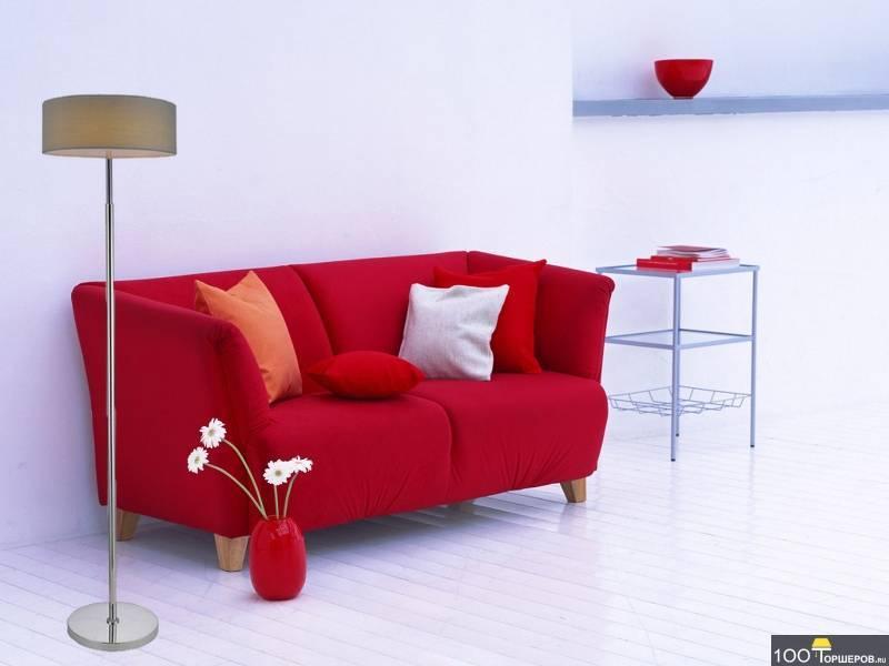 Cиний диван в интерьере: идеи сочетаний для разных стилей