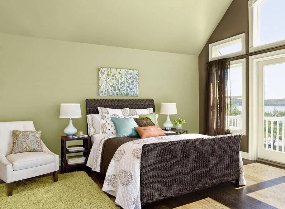 Дизайн спальни в пастельных тонах - фото готовых идей