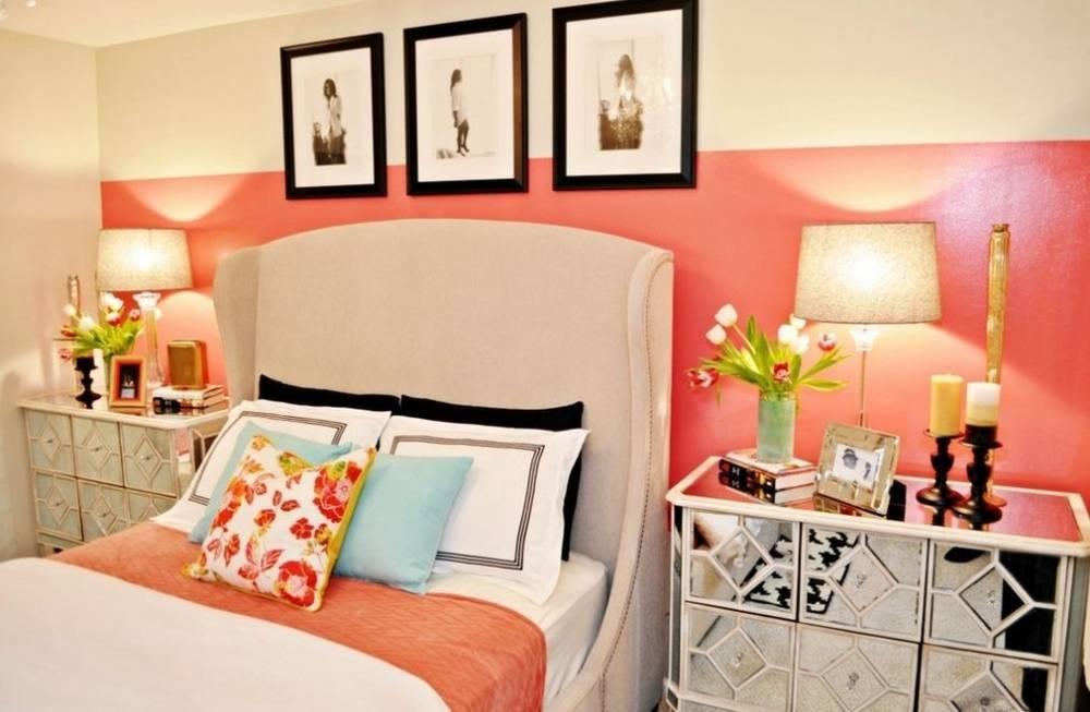 Идеальное сочетание цветов винтерьере спальни