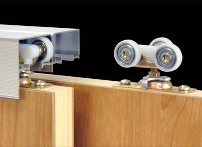 Установка раздвижных дверей, видео инструкция как производится монтаж