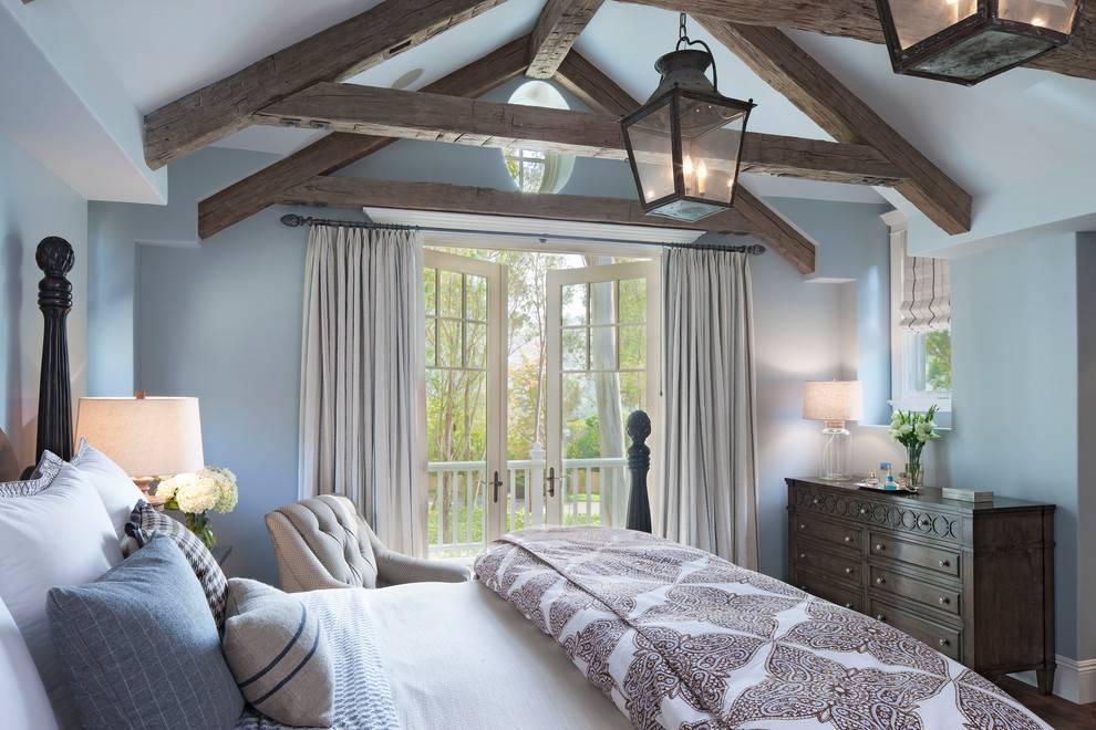 Деревянные балки на потолке: выбор стиля