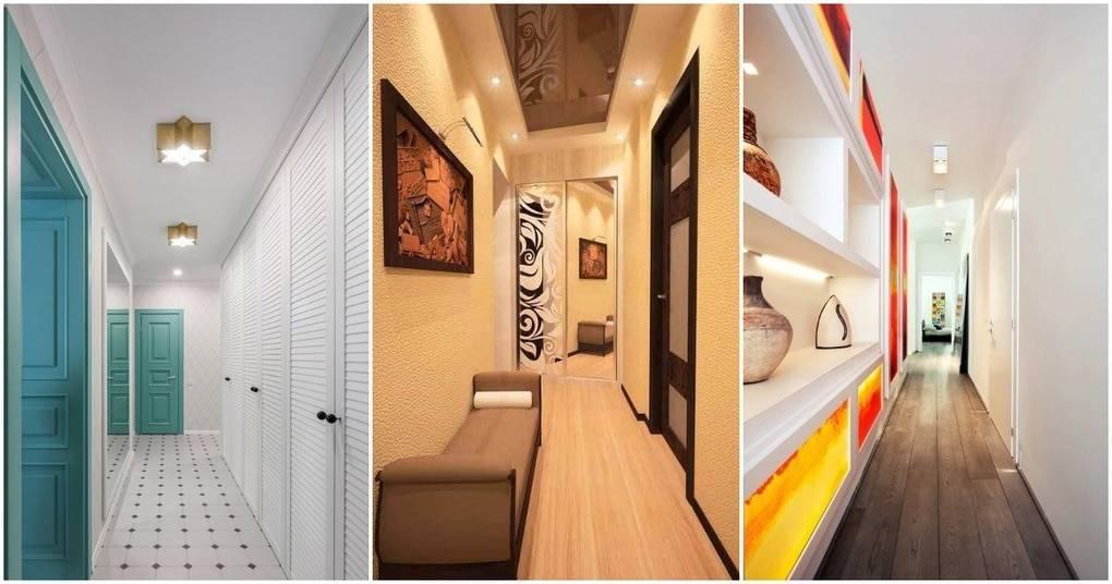 Дизайн узкого коридора: 45 лучших идей для экономии пространства