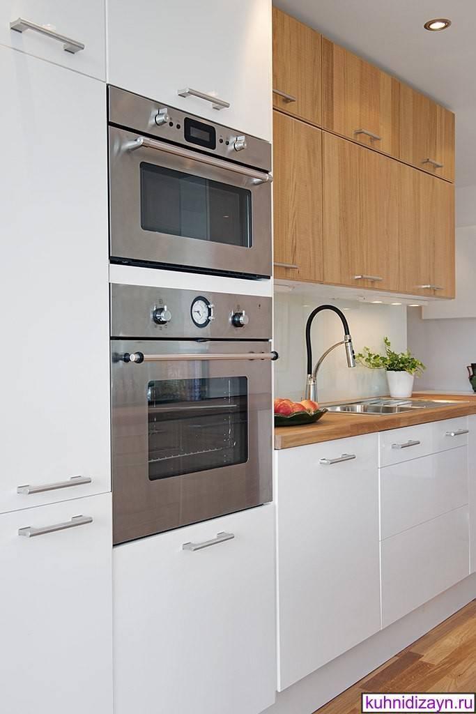 Дизайн маленькой кухни с холодильником (54 фото): куда поставить холодильник? особенности оформления узкой кухни с холодильником и стиральной машиной