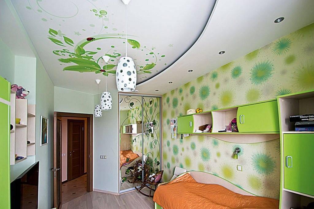 Двухуровневые натяжные потолки для спальни (52 фото): двухуровневые конструкции в интерьере