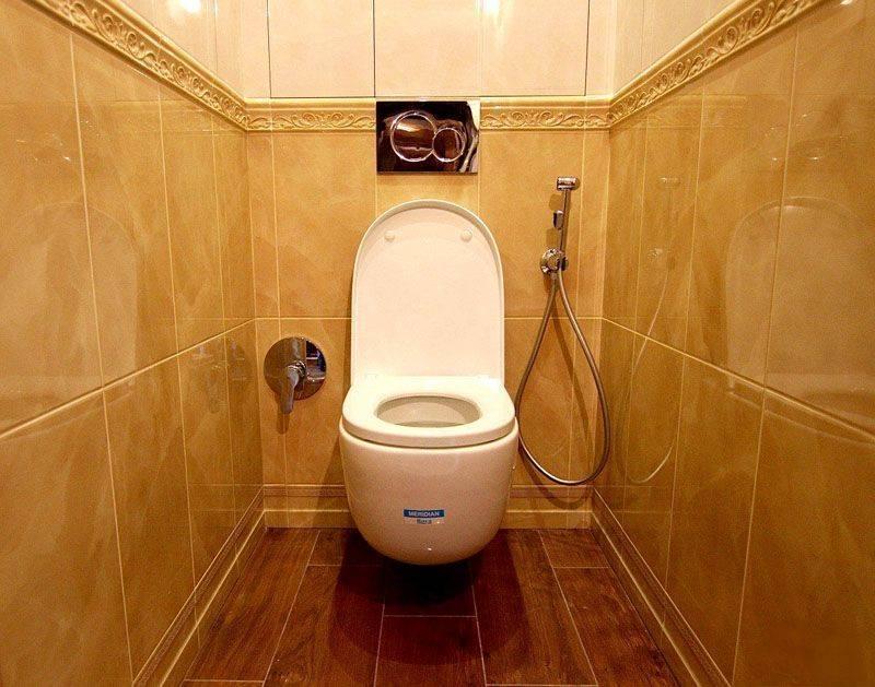 Гигиенический душ в интерьере туалета – какой выбрать