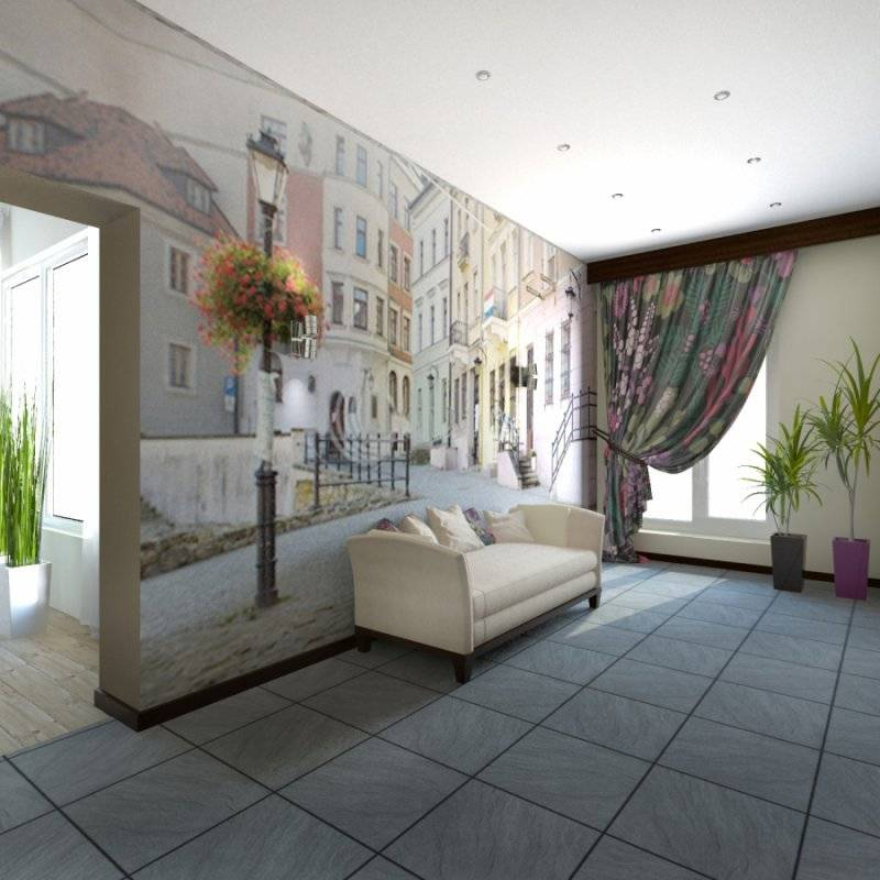 Фотообои в гостиную - 95 фото интересных примеров использования и оформления интерьера при помощи фотообоев