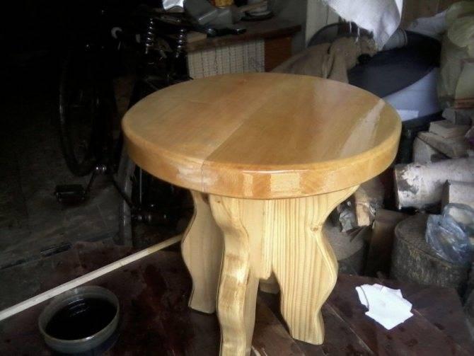 Как сделать табуретку своими руками из дерева: чертеж, схема и пошаговая инструкция