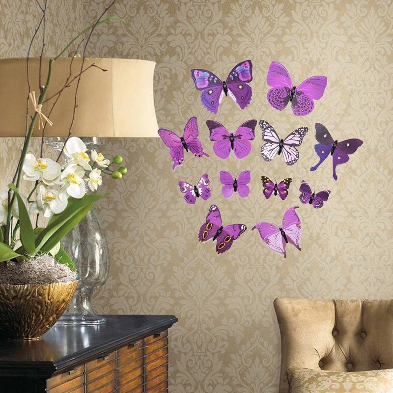 (+95 фото) декоративные бабочки на стену своими руками 95 фото