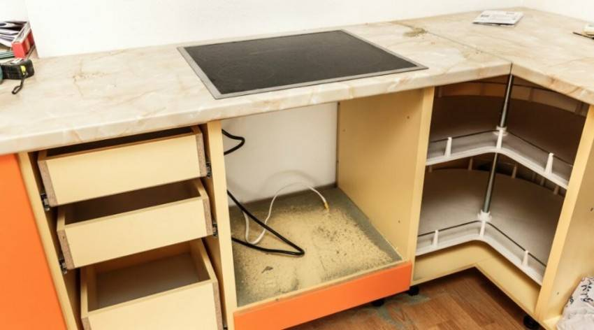 Изготовление своими руками кухонной мебели, тонкости процесса