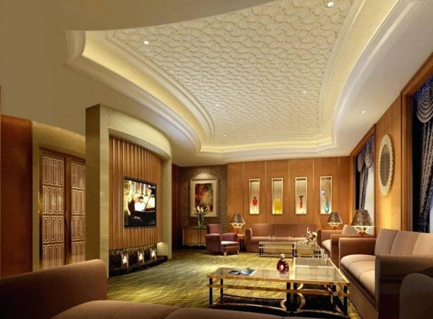 Потолок в комнате: все модные тенденции стиля + 310 фото