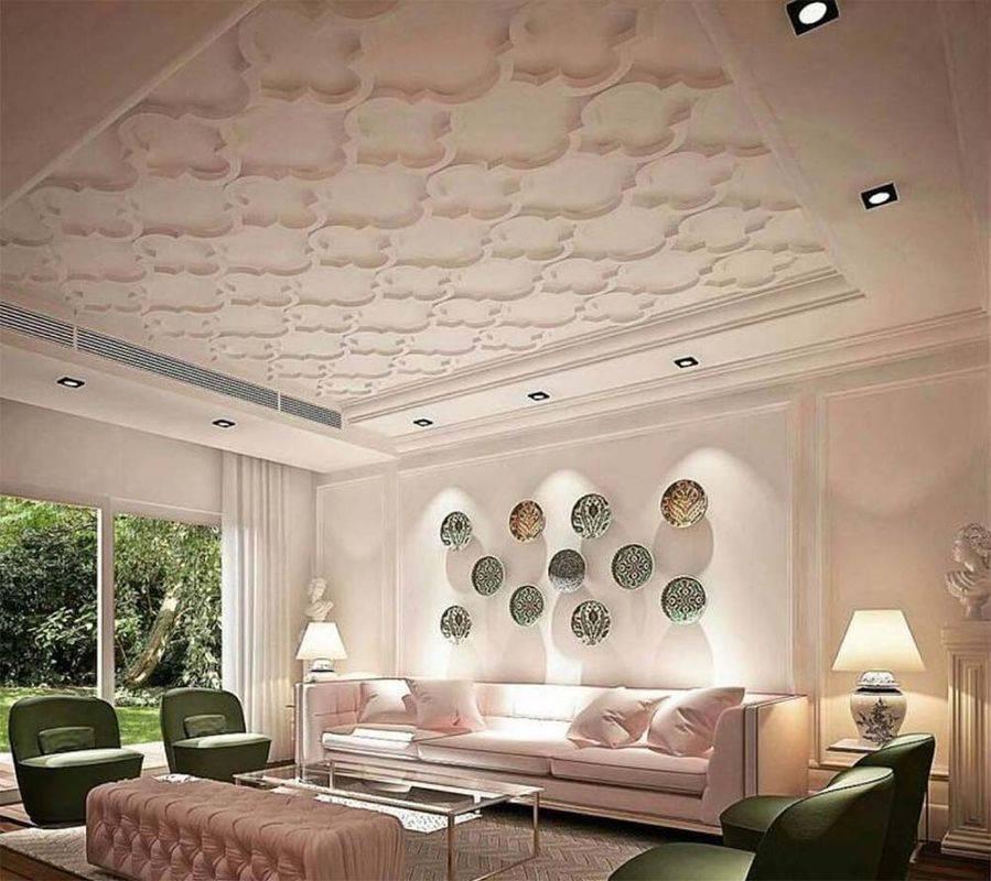 Оформление потолков в квартире - варианты устройства и популярные идеи, преимущества навесных конструкций, как оформить потолок, смотрите фотографии и видео