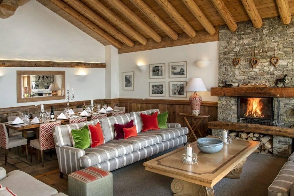 Интерьер в стиле шале - фото лучших идей дизайна деревенского стиля