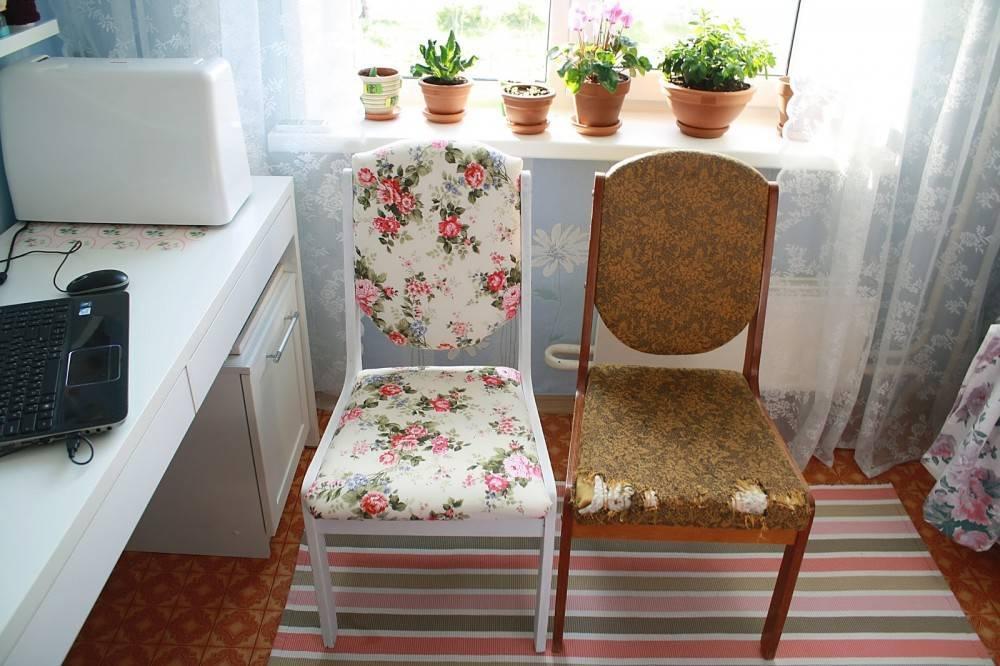 Современный декор стульев своими руками