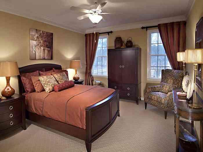 Оформление интерьера спальной комнаты по фен-шуй