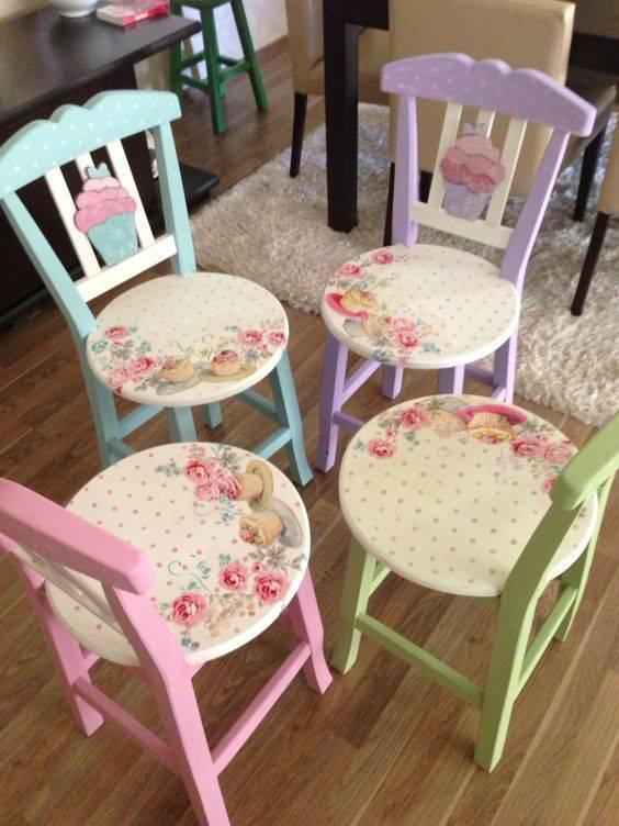 Декор пластикового стула своими руками (мастер класс + фото) | своими руками - как сделать самому - строитель