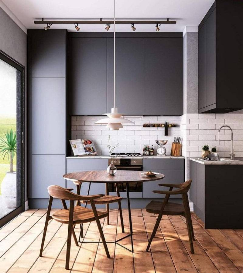 Дизайн маленькой кухни: как выжать максимум [подборка 2019]