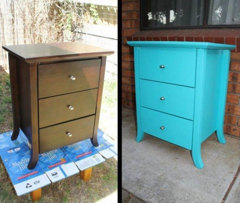 Как покрасить мебель из дсп своими руками в домашних условиях > все про дом