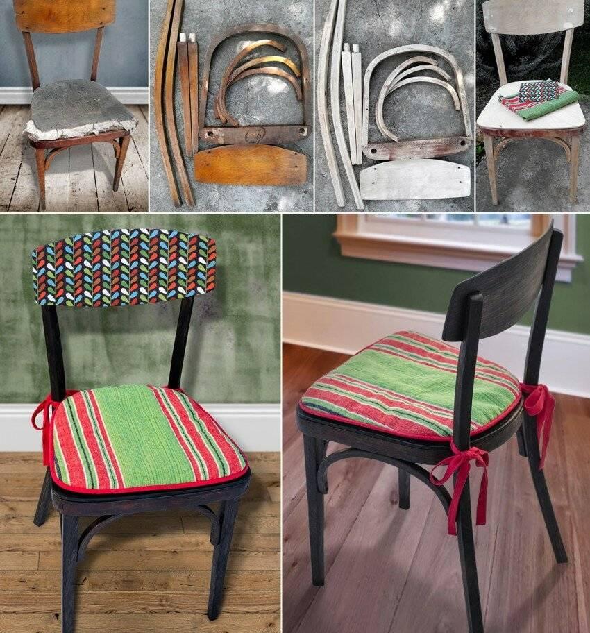 Декор стульев — пошаговая инструкция с фото примерами и новинками дизайна