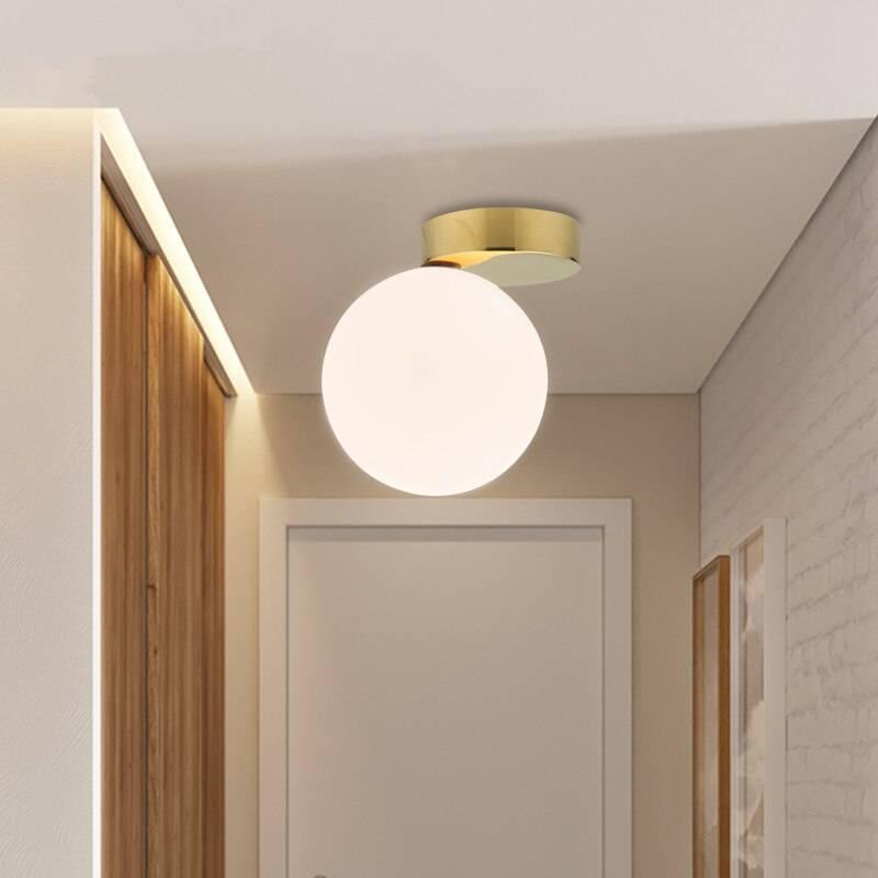 Тонкости организации освещения в коридоре - 80 фото примеров
