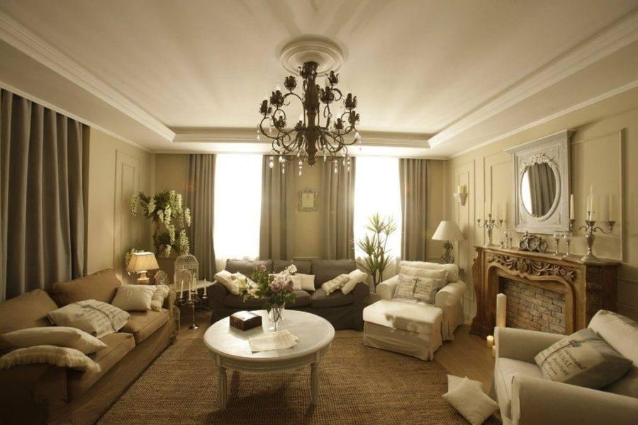 Гостиная в классическом стиле (100 фото): дизайн маленького зала в стиле «неоклассика» и «современная классика»
