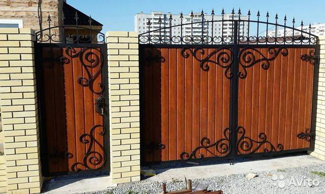 Забор из профнастила: полный обзор, фото и советы дизайнера.