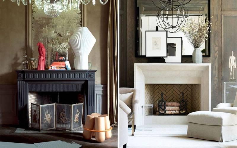 Камин в интерьере квартиры: 105+ роскошных вариантов в современном и классическом дизайне