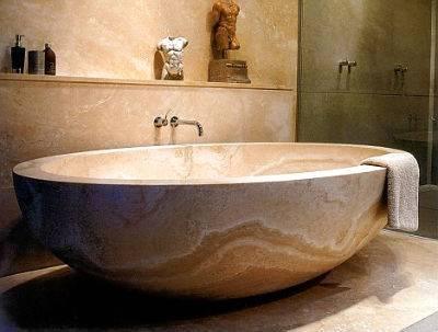 Ванна из мрамора