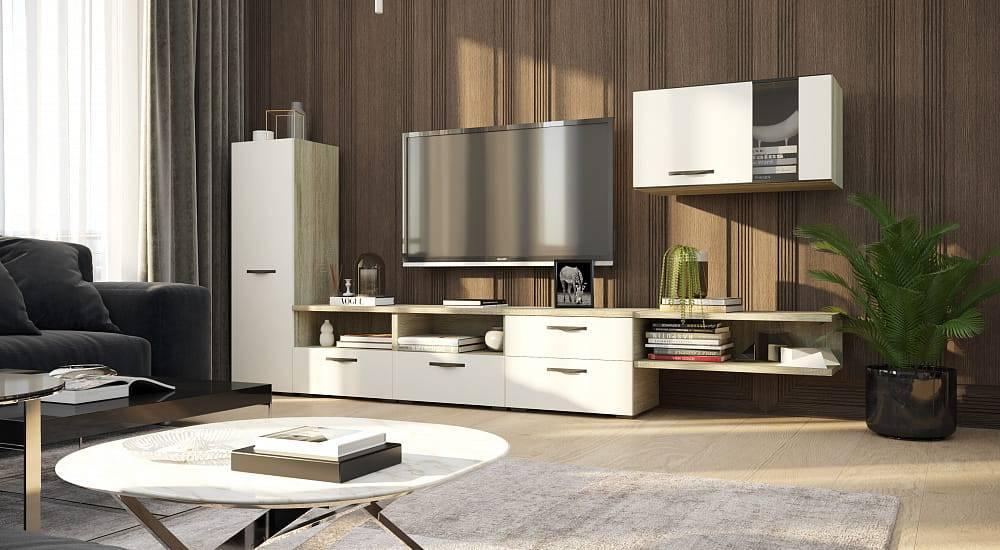 Мебель для гостиной (145 фото): как обставить зал в стандартной квартире, какой набор будет наиболее актуален, красивая глянцевая коллекция, комплект для столовой