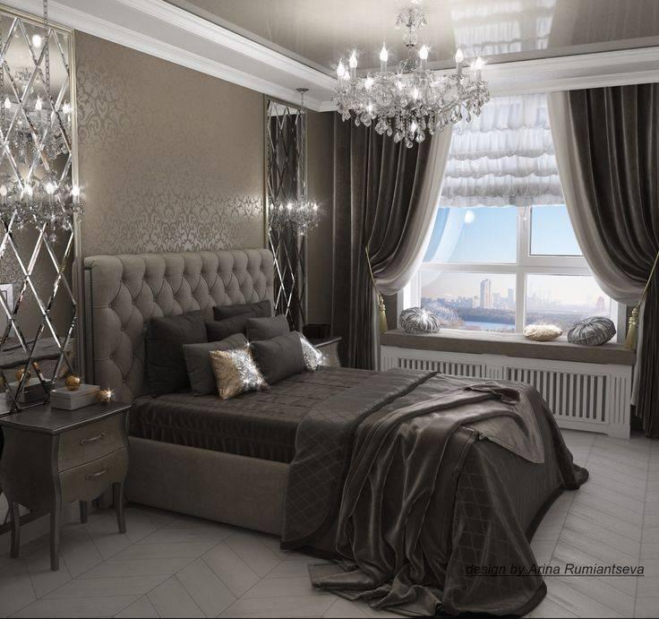 Хорошая спальня в стиле арт деко, практичные рекомендации в оформлении