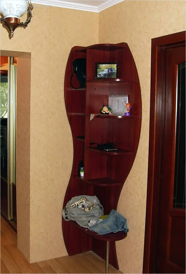 Подбираем шкаф-перегородку в прихожую – дизайнерское решение