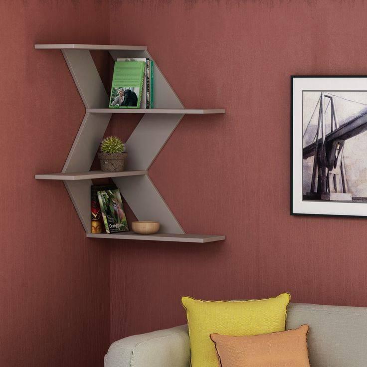 Варианты выбора дизайна и назначения полок для прихожей комнаты