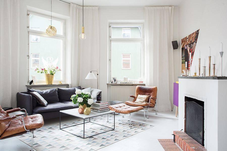 Шведский стиль в интерьере: 75 особенностей дизайна