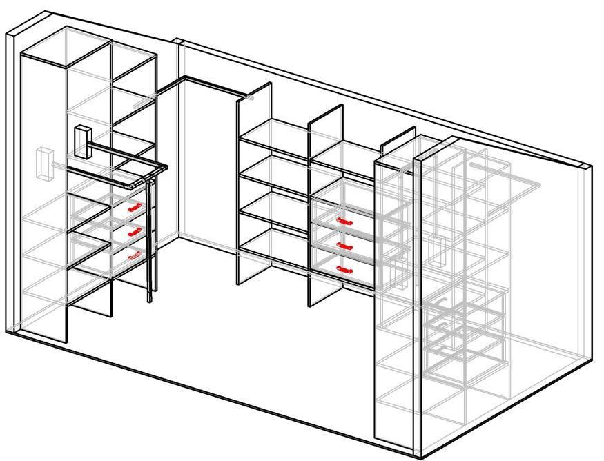 Гардеробные комнаты: дизайн проекты, фото, своими руками из кладовки, планировка