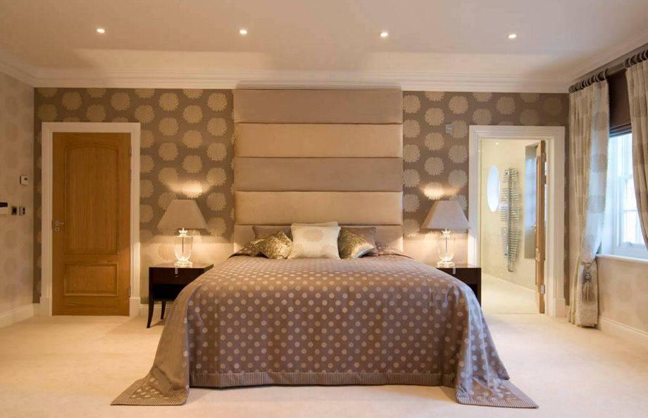 Комбинируем обои для выразительности дизайна : 135+ (фото) интерьеров спальни, гостиной, детской